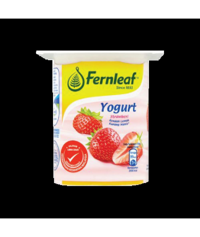 Fernleaf Low Fat Yogurt Strawberry 110g