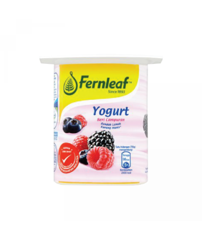 Fernleaf Low Fat Yogurt Mixed Berry 110g