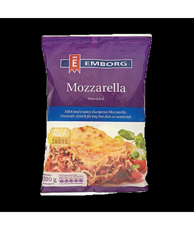 Emborg Shredded Mozzarella 200g
