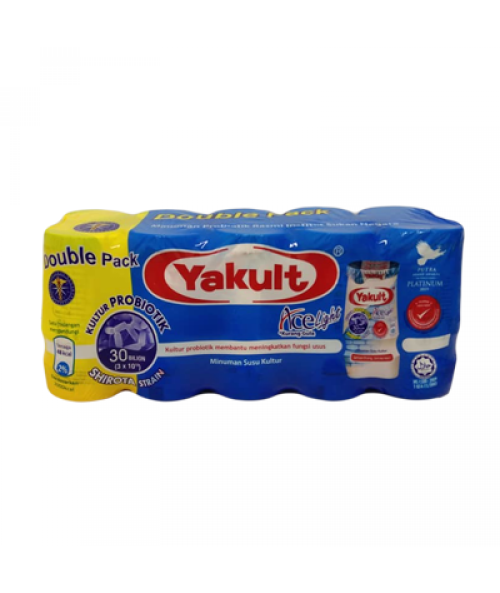 Yakult Ace Light Double Pack 80ml*10's