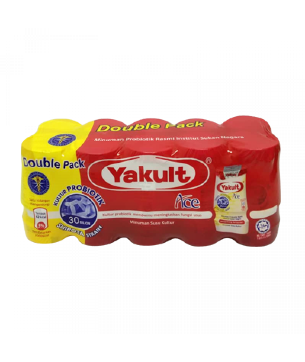 Yakult Cultured Milk Double Pack 80ml*10's