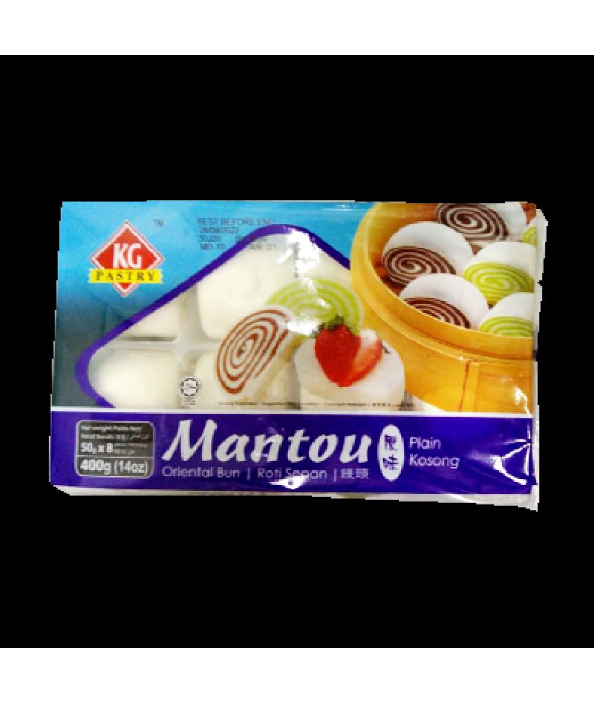 KG Mantou Plain 400g 原味馒头