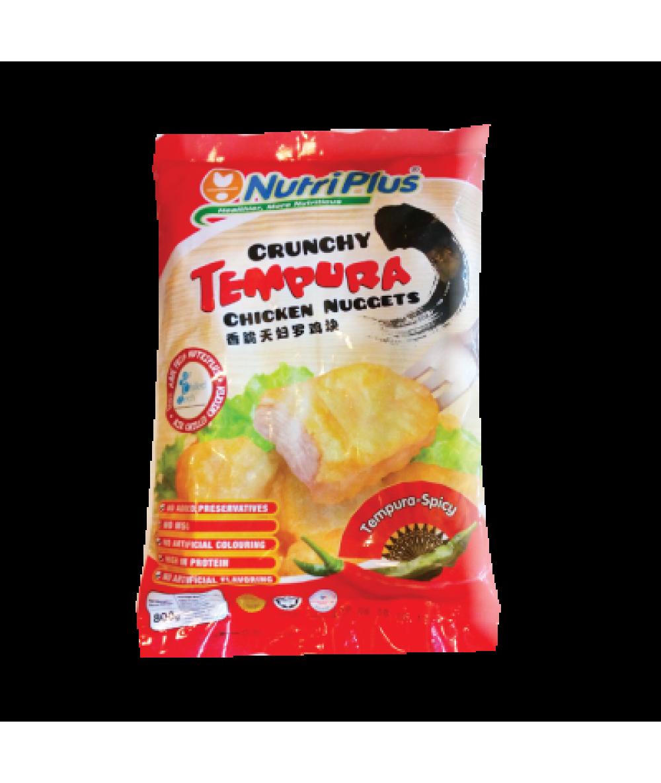 Nutriplus Tempura Chicken Nuggets-Spicy 800g
