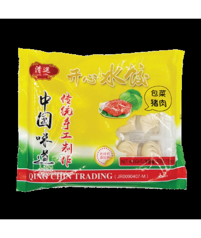 QC Cabbage Dumpling 包菜猪肉水饺 300g