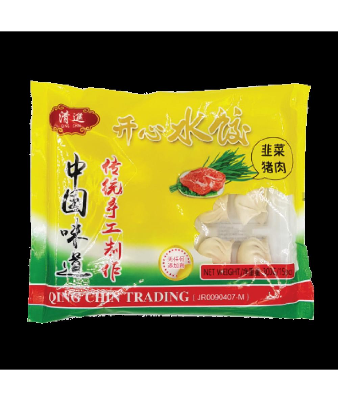 QC Chives Dumpling 韭菜猪肉水饺300g