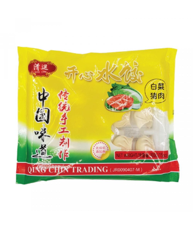 QC Chinese Cabbage Dumpling 白菜猪肉水饺 300g