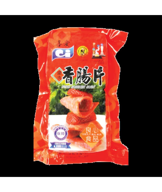 CI PORK SAUSAGE SLICE 猪肉香肠片 400gm