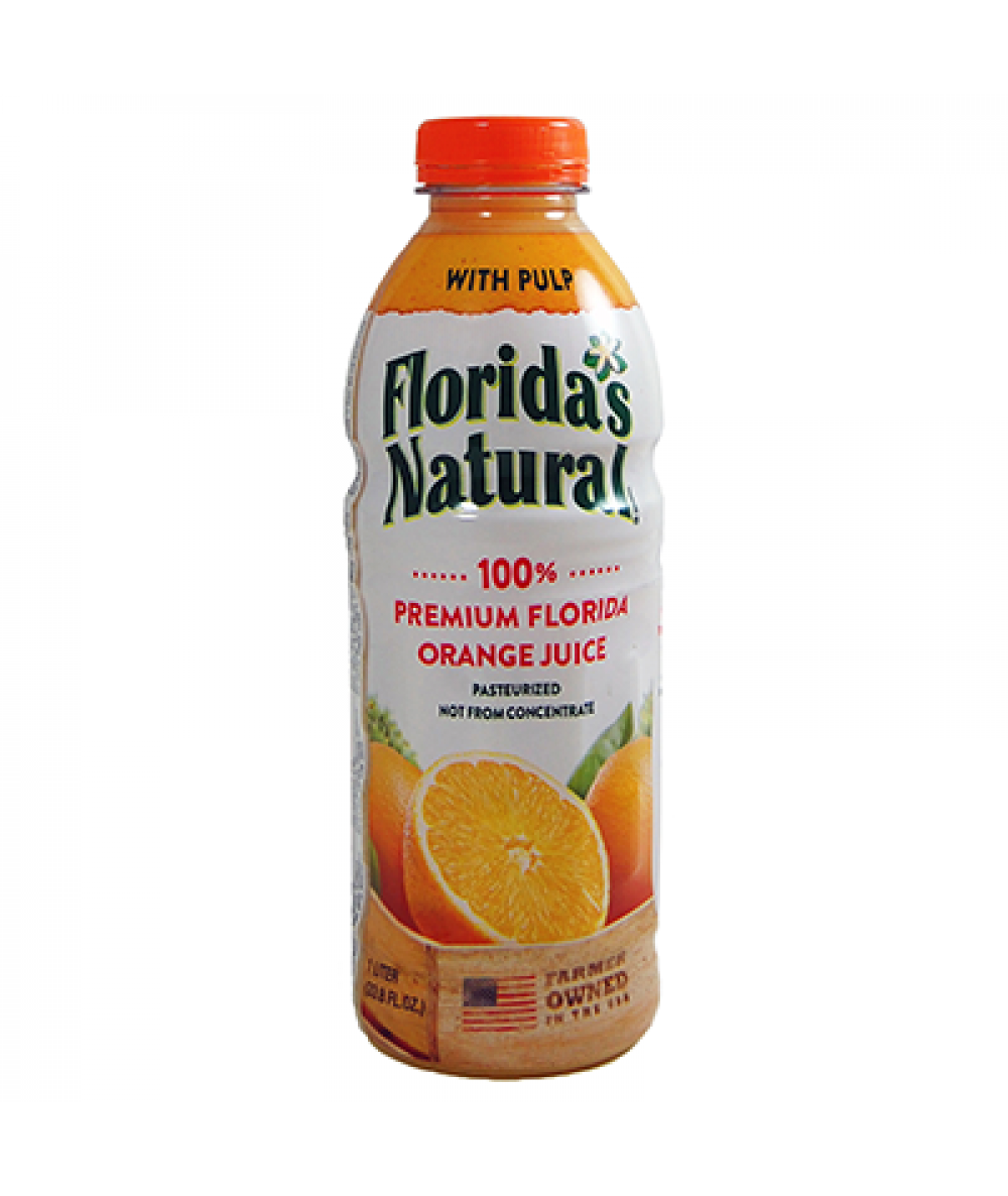 Florida's Natural Orange Juice (With Pulp) 1L