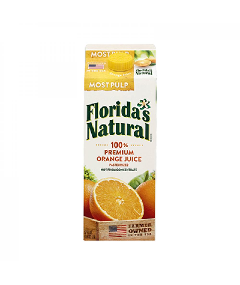 Florida's Natural Orange Juice Most Pulp 1.5L