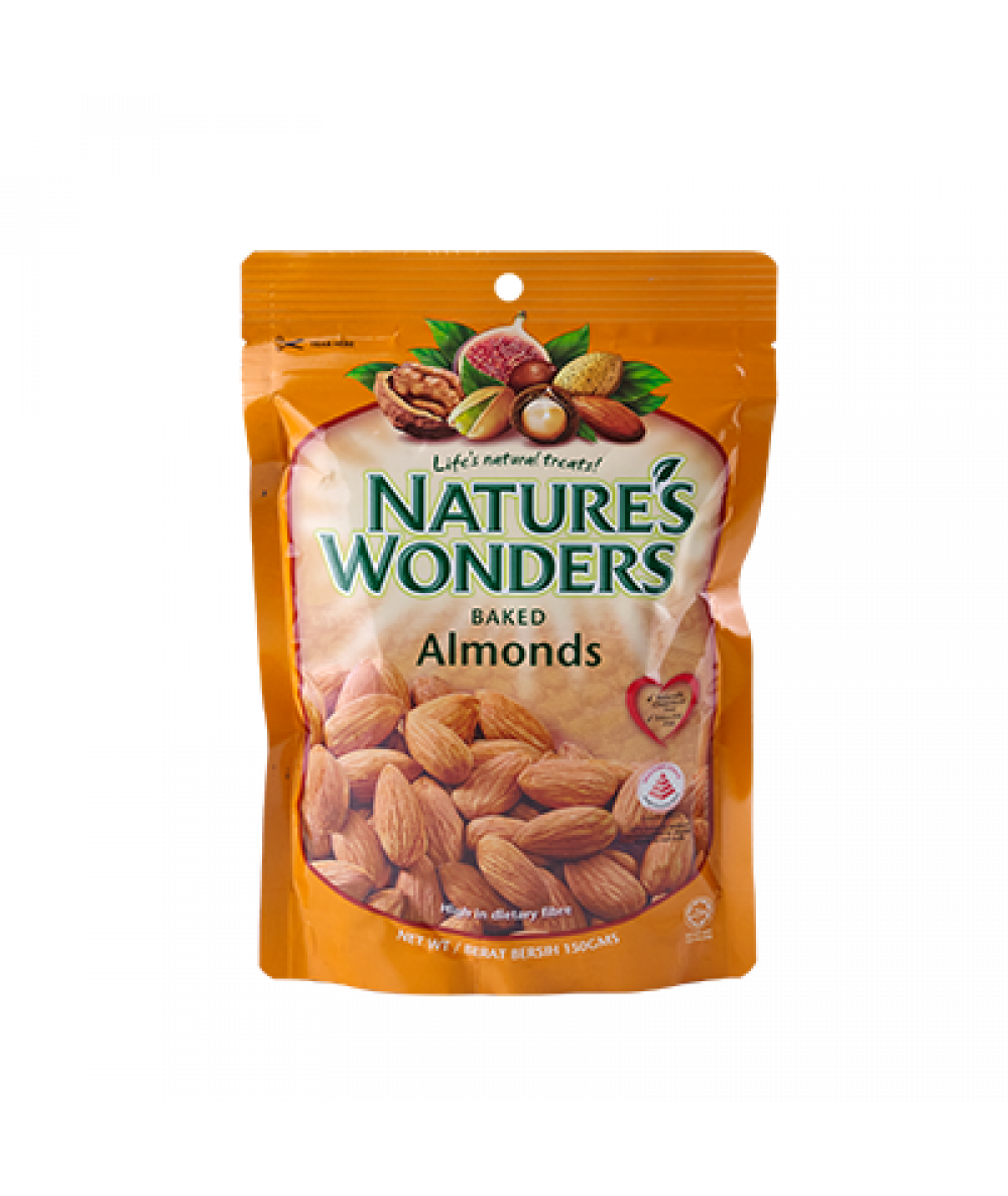 Nature's Wonders Baked Almonds 150g