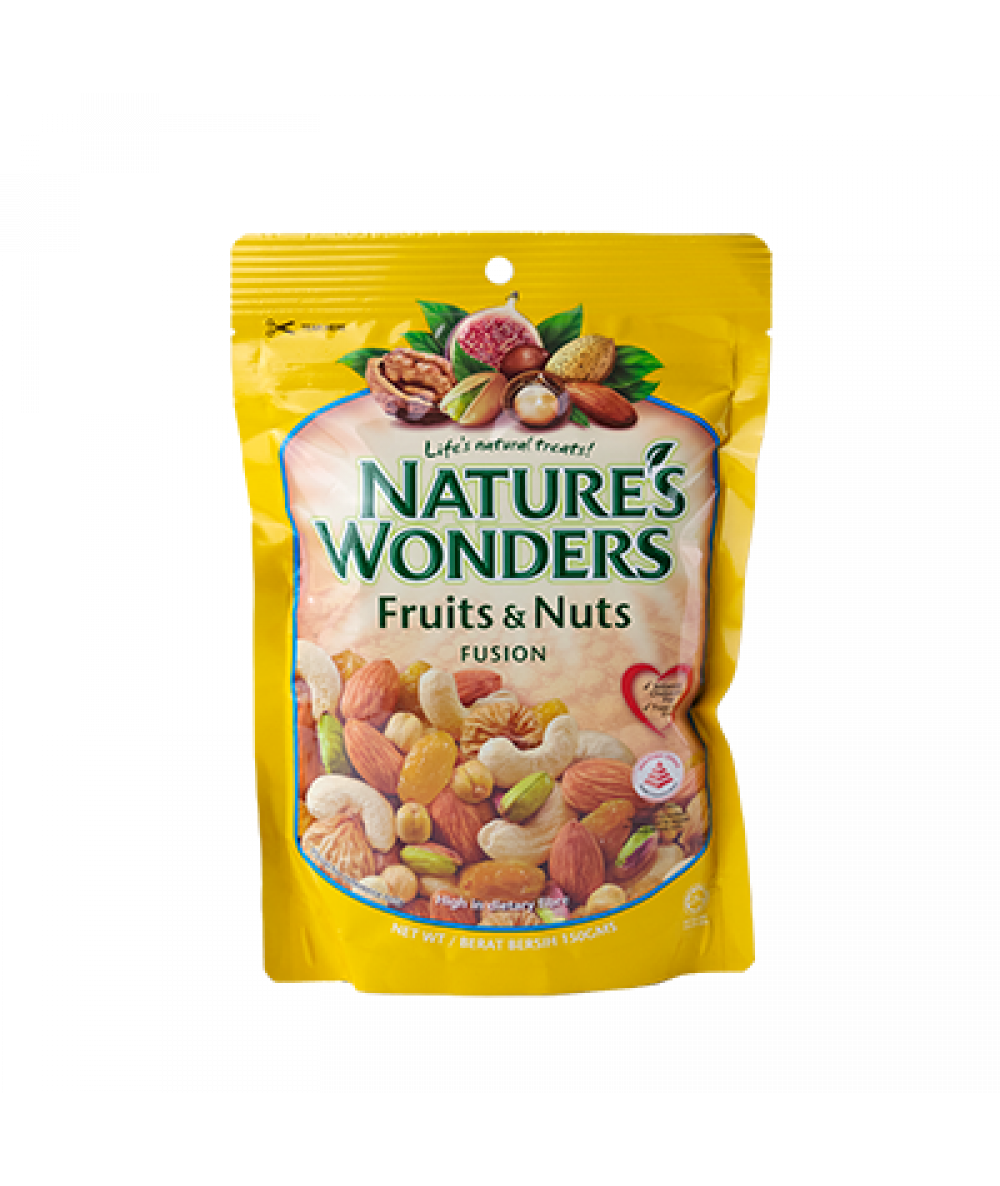 Nature's Wonders Fruit & Nuts Fusion 150g