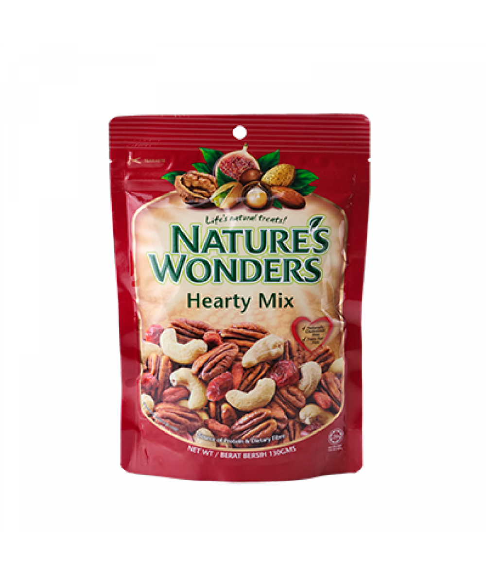 Nature's Wonders Hearty Mix 130g