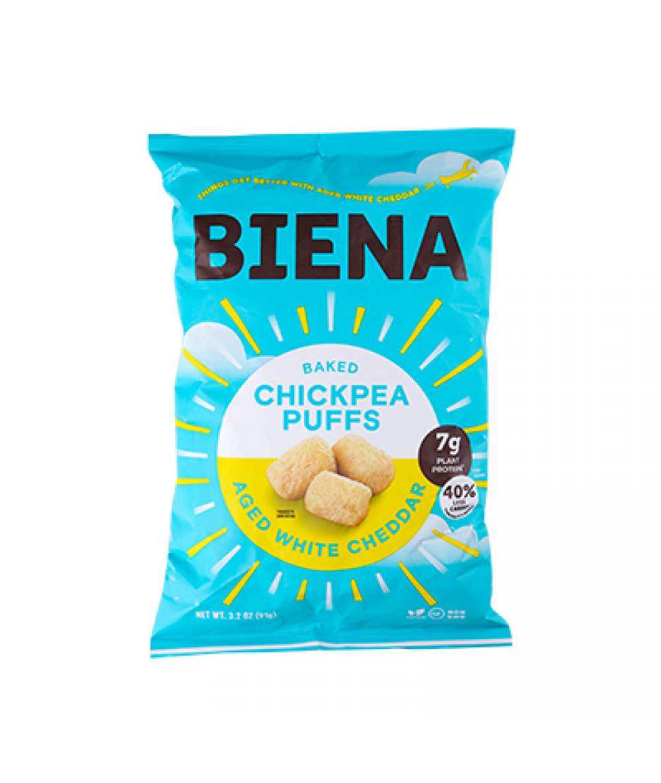 Biena Chickpea Cheddar 3.2oz