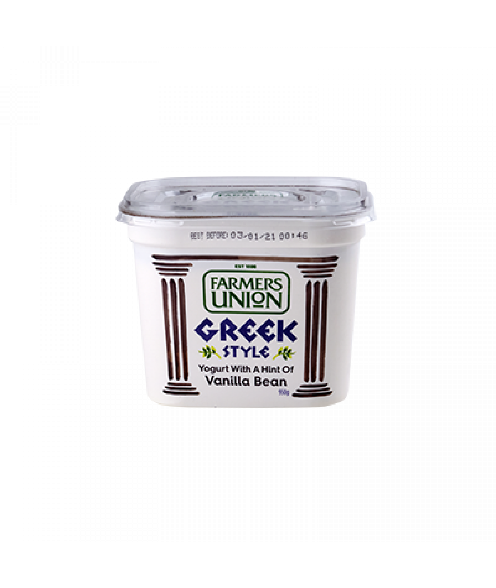 Farmers Union Greek Vanilla 950g
