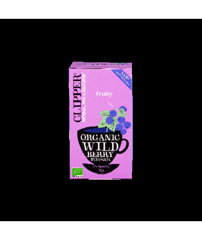 Clipper Organic Wild Berry Tea 50g