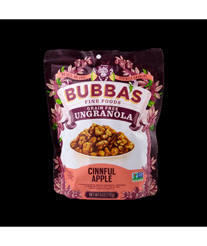 Bubba's Ungranola Cinnful Apple 6oz