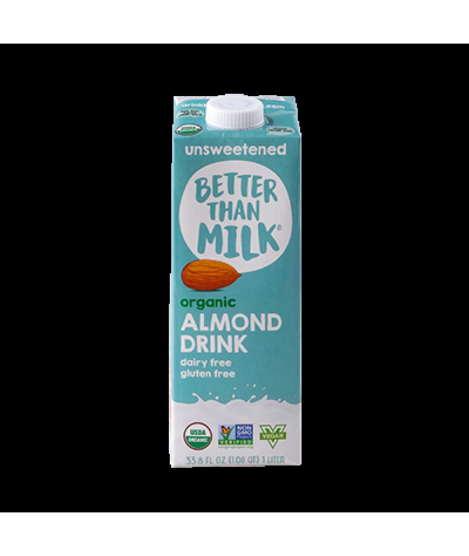 Better Than Milk Almond Drink Unsweetened 33.8oz