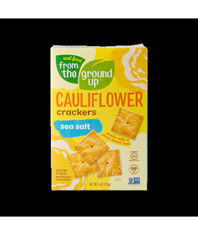 From The Ground Up Cauliflower Sea Salt Cracker 4o