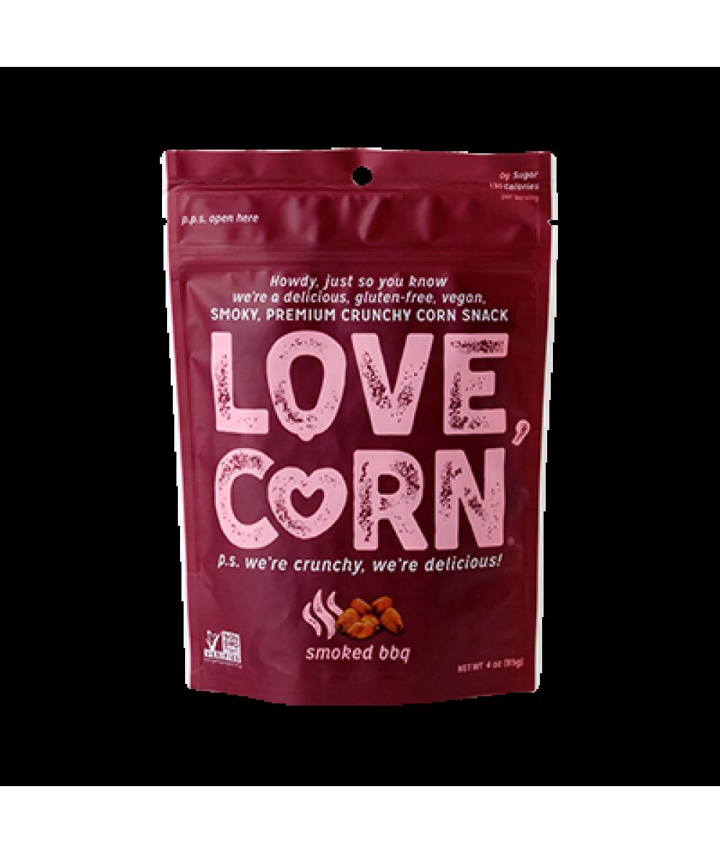 Love Corn Smoked Bbq 4oz