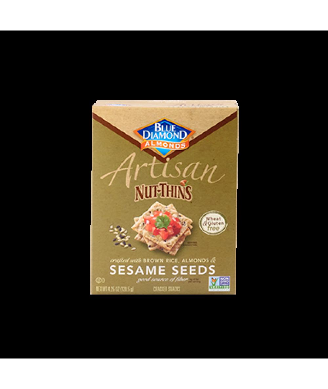 Blue Diamond Sesame Seed Nut Thins 4.25oz