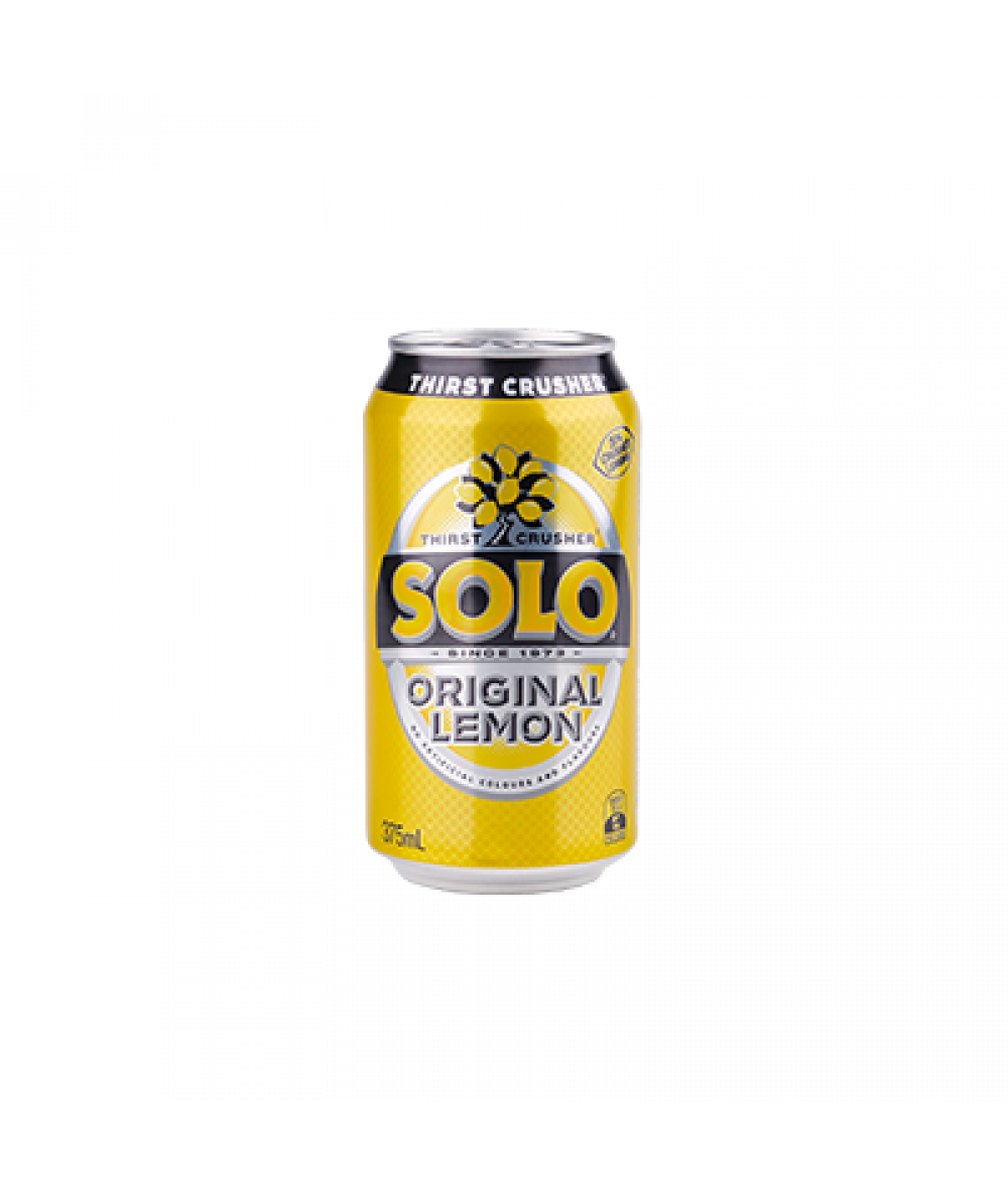 Solo Original Lemon Soft Drink 375ml