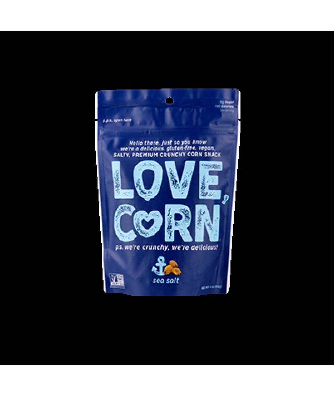Love Corn Roasted Sea Salt 4oz
