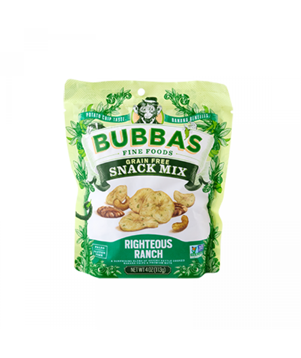 Bubba's Snack Mix Righteous Ranch 4oz