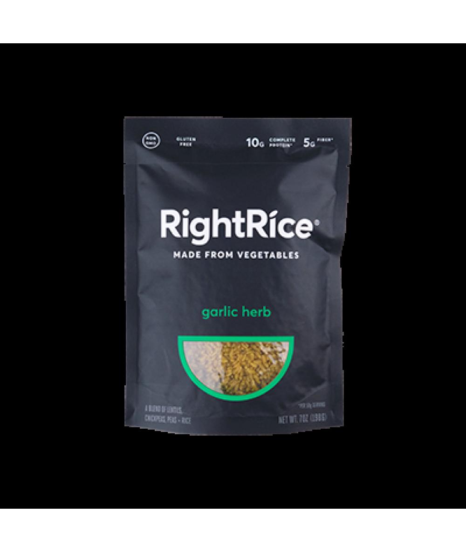 RightRice Garlic Herb Rice 7oz
