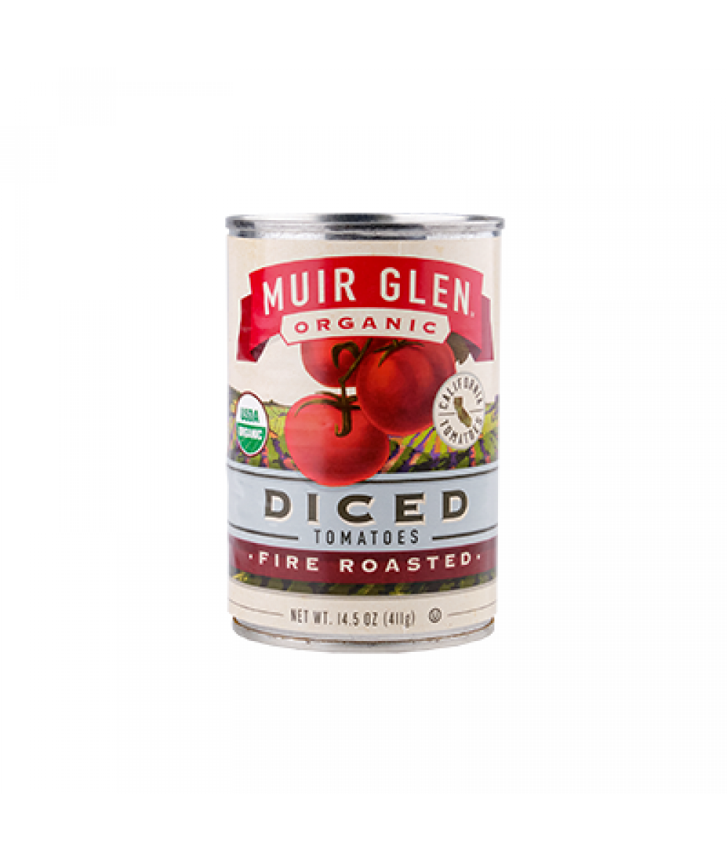 Muir Glen Roasted Diced Tomatoes 14.5oz