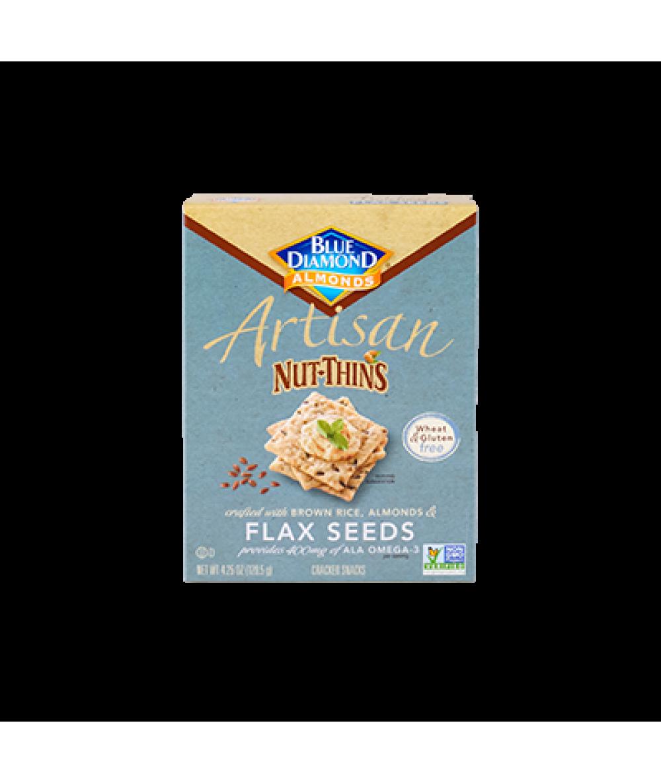 Blue Diamond Flaxseed Nut Thins 4.25oz