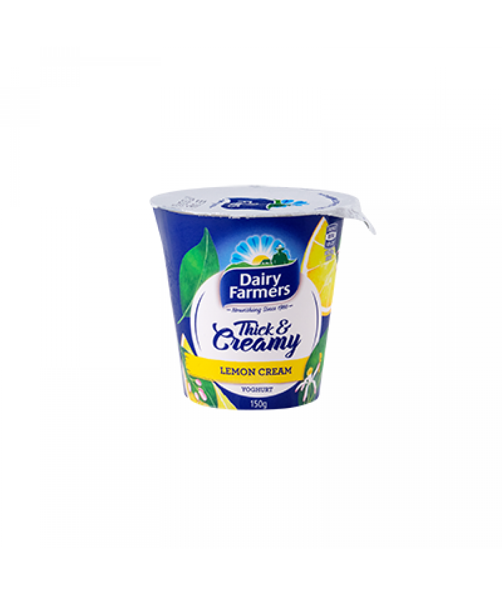 Dairy Farmer Thick & Creamy Lemon Cream 150g