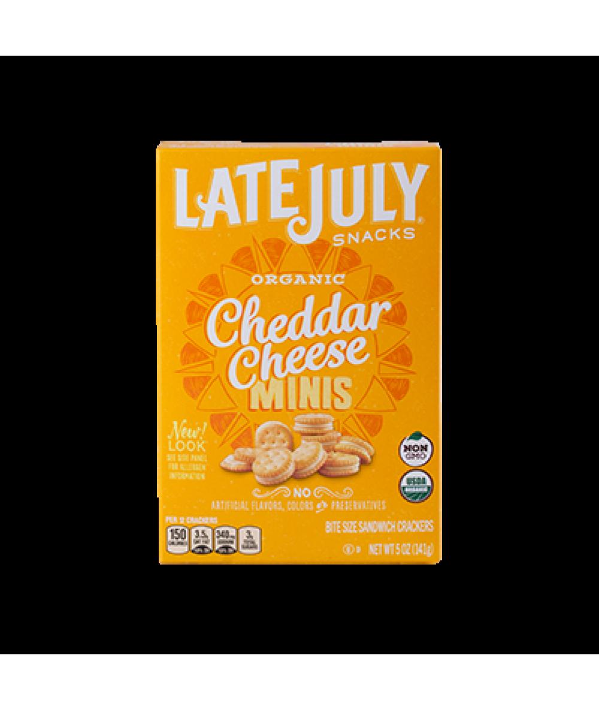 Late July Mini Cheddar 5oz