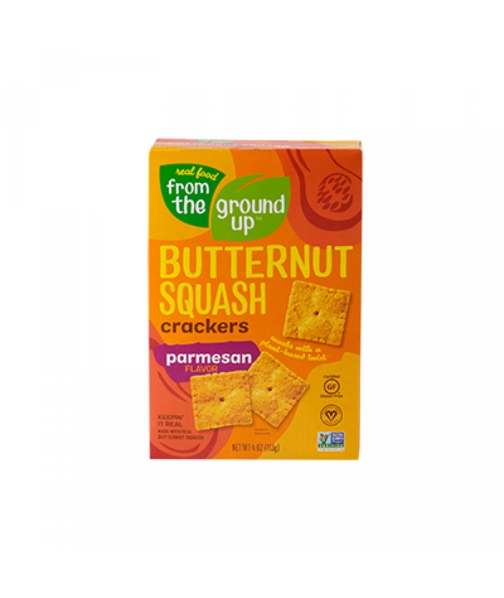 From The Ground Up Butternut Squash Parmesan Crack