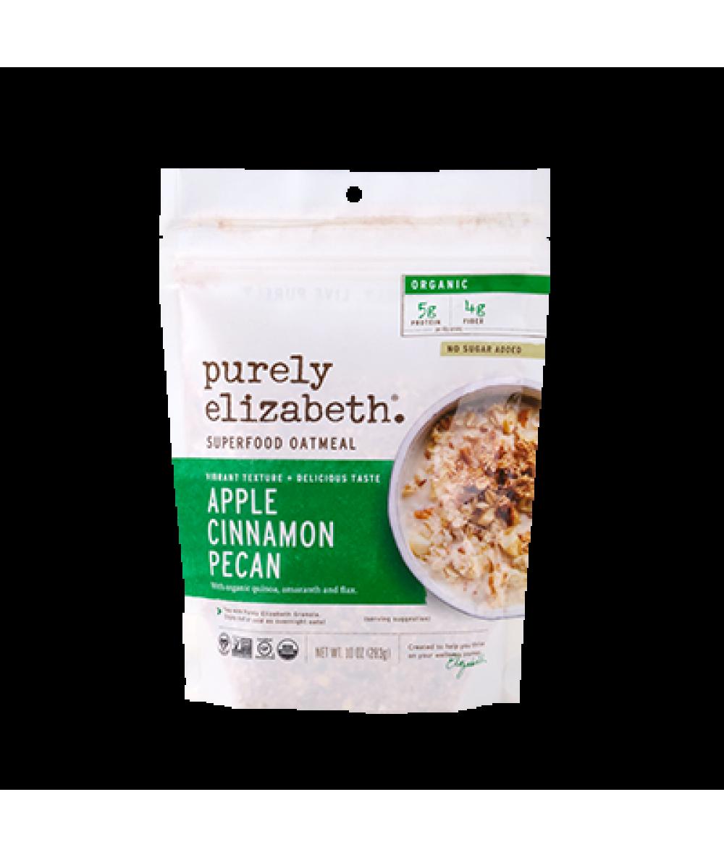 Purely Elizabeth Superfood Apple Cinnamon Oatmeal