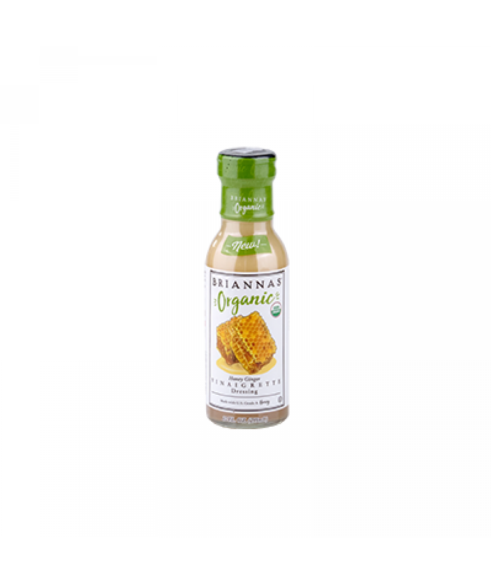 Briannas Honey Ginger Vinaigrette 10oz