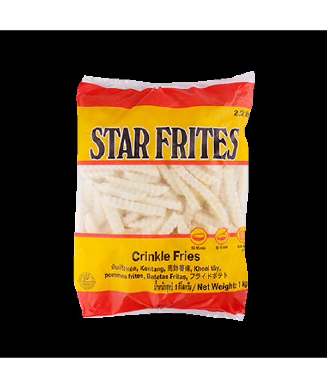 Farmfrites Star Frites Crinkle Cut 1kg