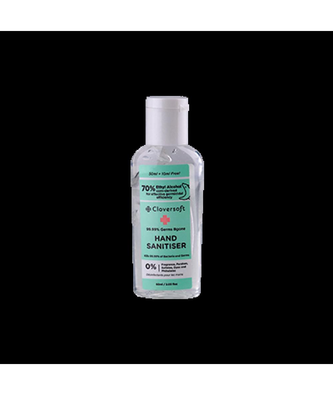 Cloversoft 99.99% Hand Sanitiser 60ml