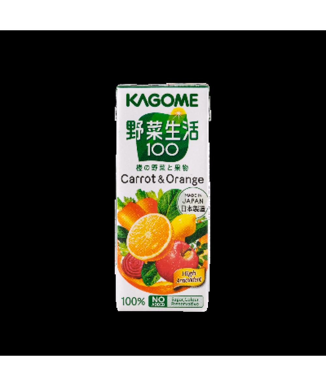 Kagome Yasaiseikatsu Carrot & Orange 200ml