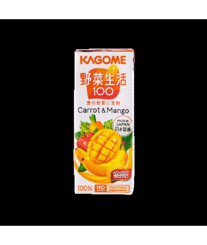 Kagome Yasaiseikatsu Carrot & Mango 200ml