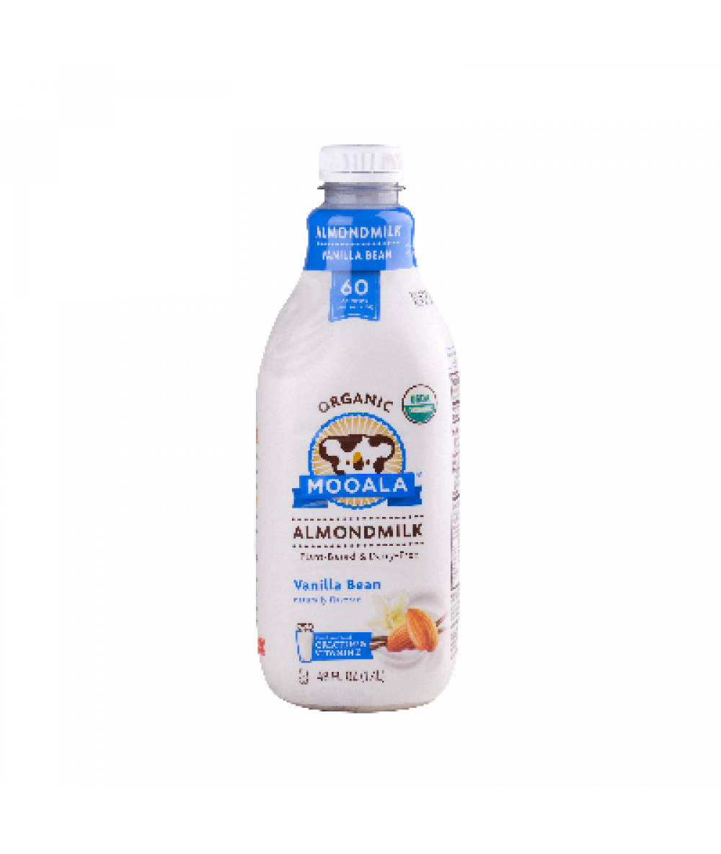 Mooala Almond Milk Vanilla Bean 48oz