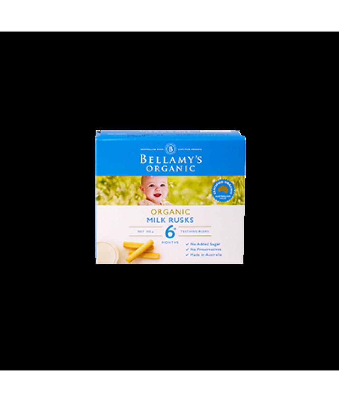Bellamy's Toothiepegs Milk Rusks 100g
