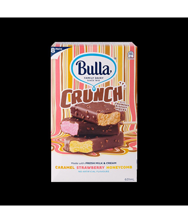 Bulla Crunch 8'S Variety Pack 8's 631ml