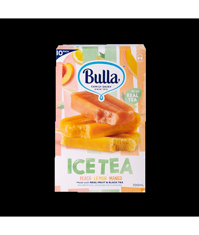 Bulla Ice Tea Ice Cream Stick 10's 750ml