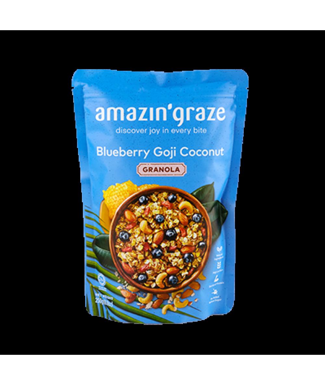 Amazin' Graze Blueberry Goji Coconut Granola 250g