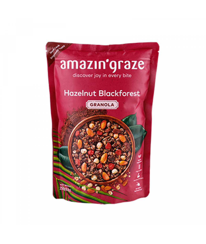 Amazin' Graze Hazelnut Blackforest Granola 250g
