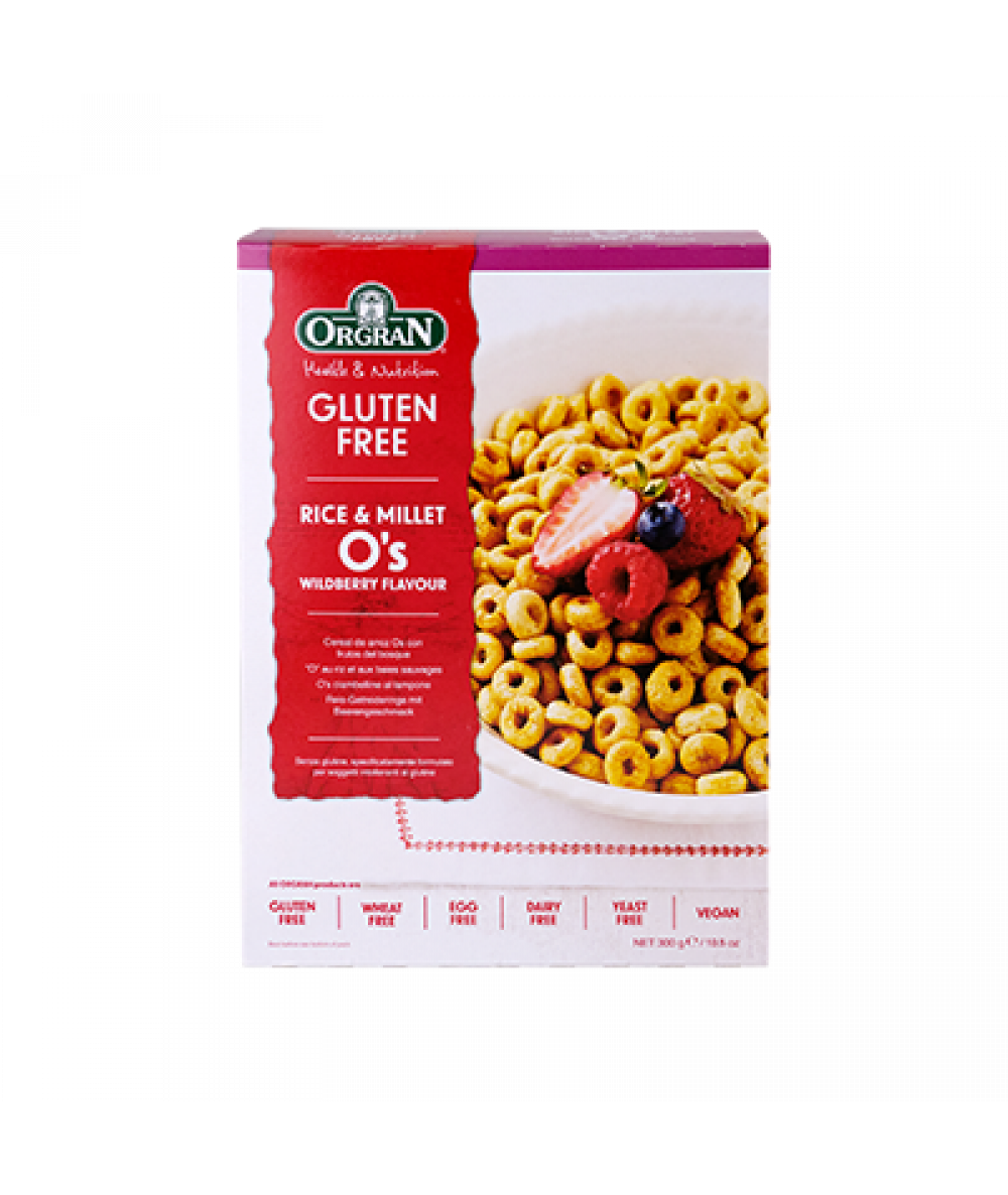 Orgran Rice O's Wildberry Flavour 300g