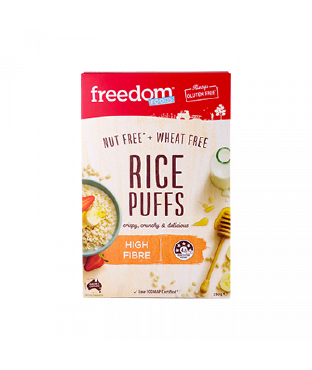 Freedom Food Breakfast Cereal Rice Puffs 250g