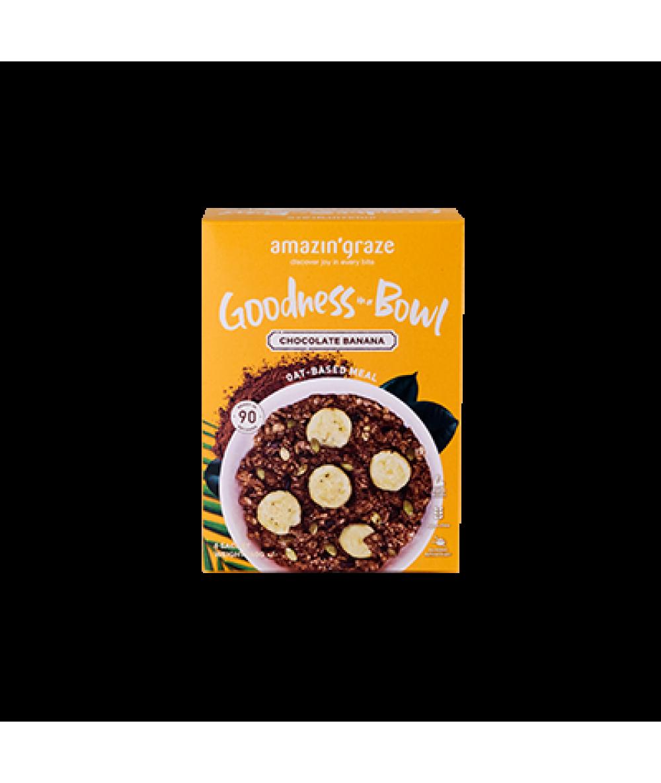 Amazin' Graze Goodness In A Bowl Chocolate Banana