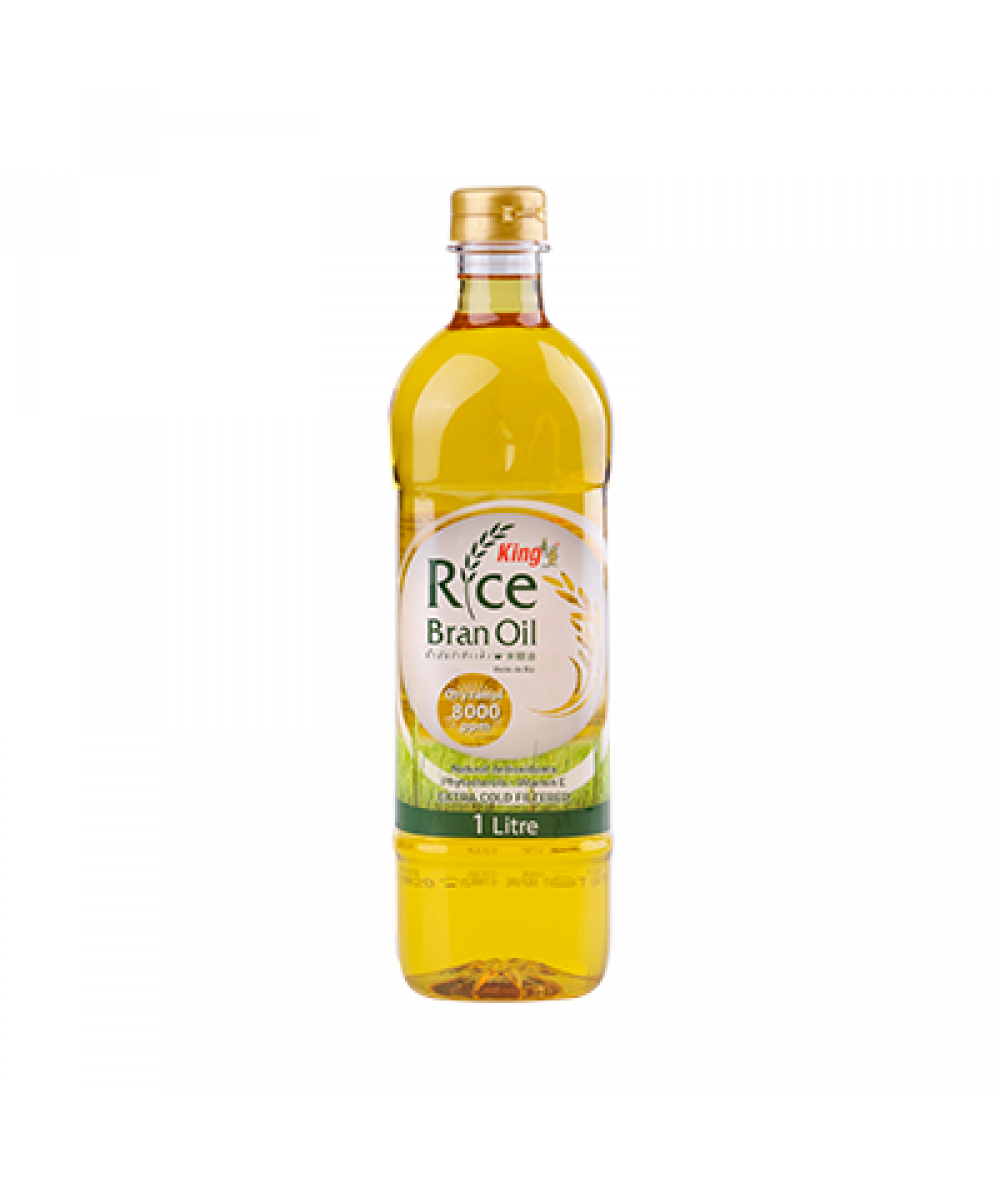 King Rice Bran Oil 1L