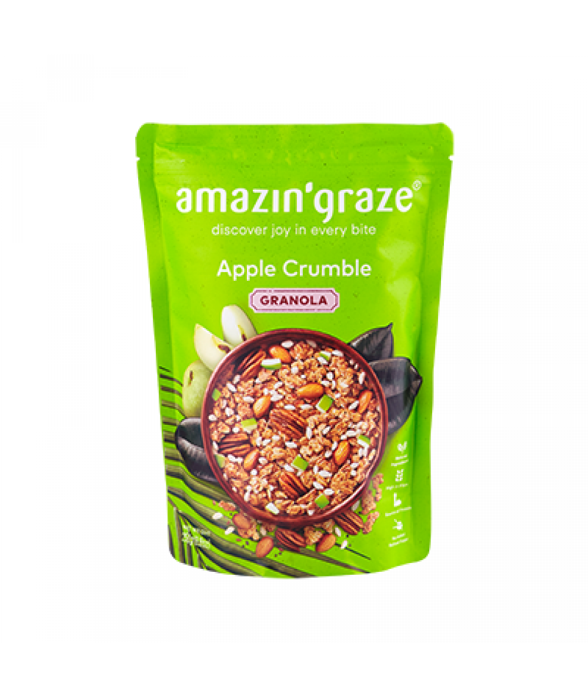 Amazin'Graze Apple Crumble Granola 250g